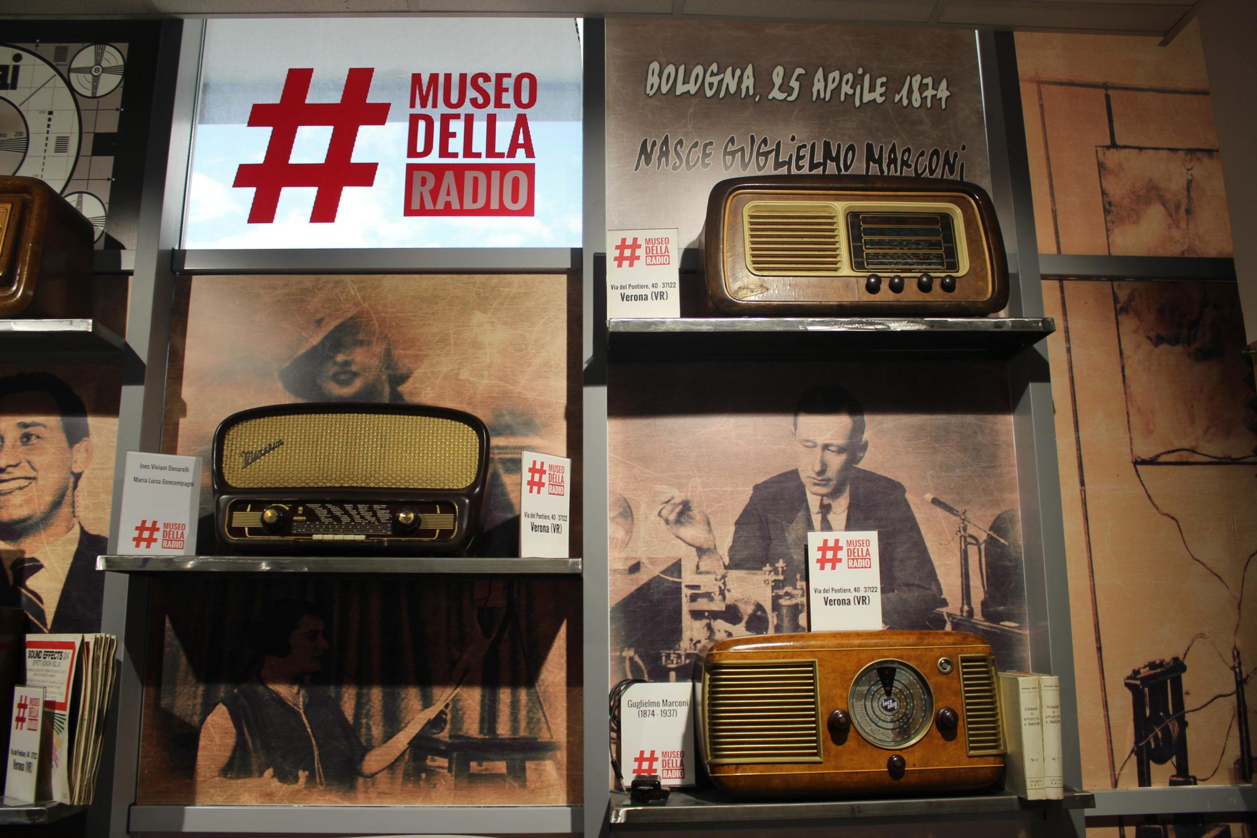 il museo della radio negli studi di live social a Roma