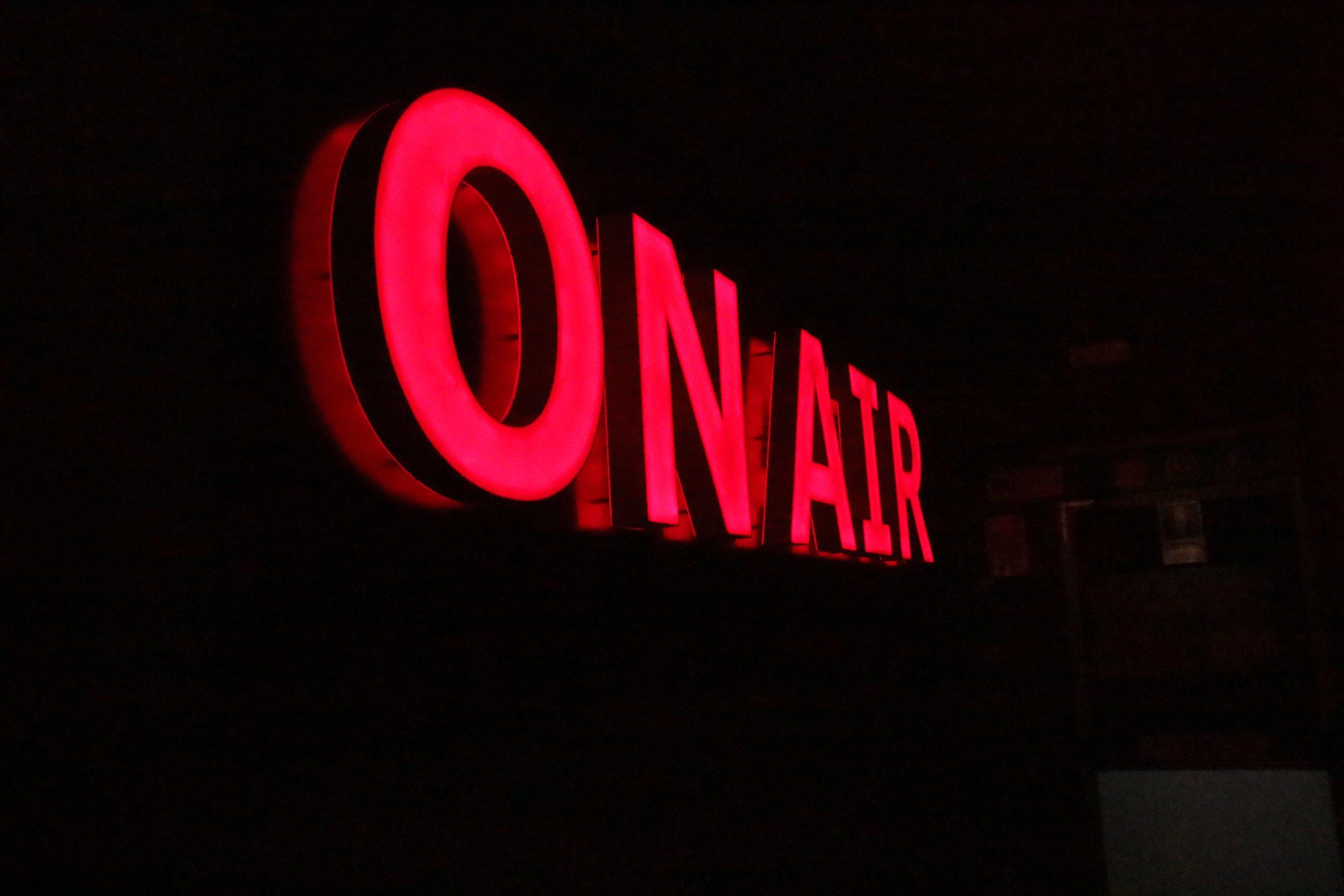 on air live social radio