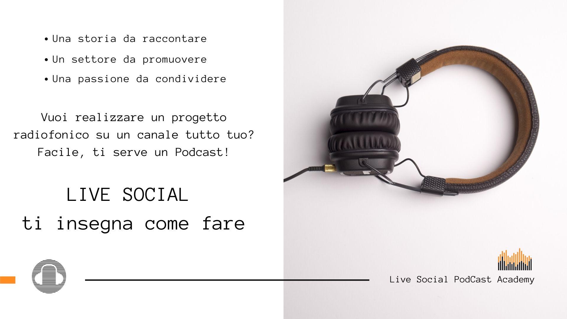 podcast academy live social
